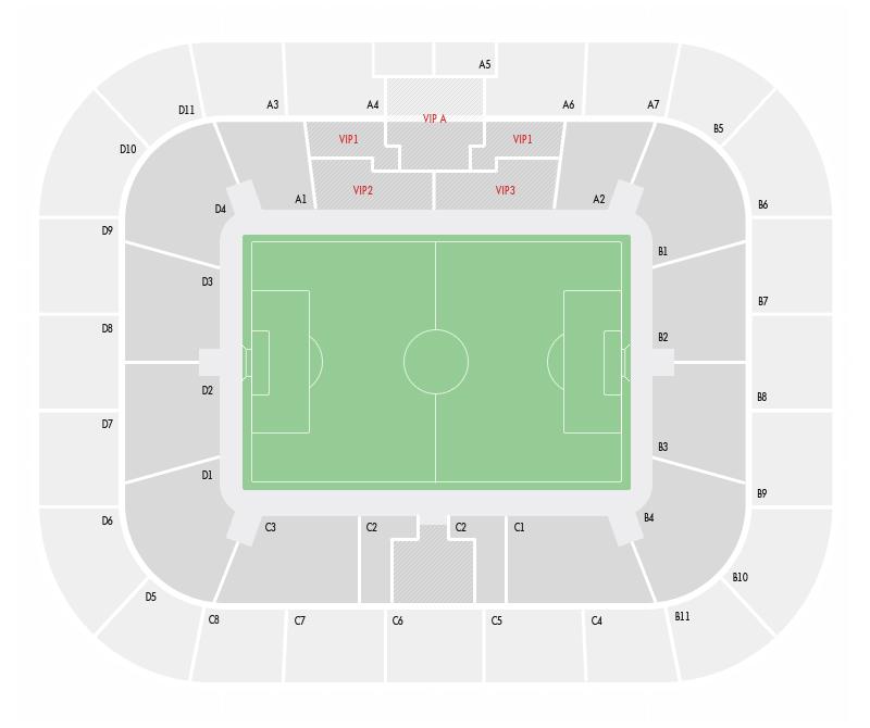 Схема стадиона.  Категория.
